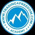 Trading4Freedom.com – Vermögen bilden. Freiheit leben. Logo